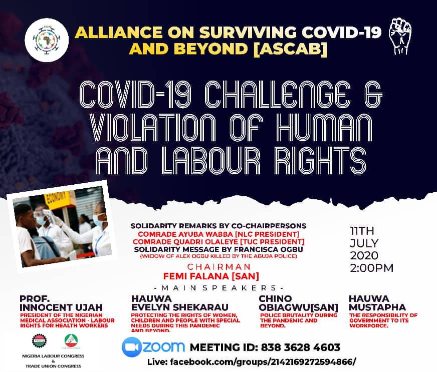 Alliance For Surviving Covid-19 and Beyond (ASCAB)